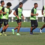 Glorioso espera paraguaios em cima durante todo o tempo no jogo de volta (Vitor Silva/SSPress)