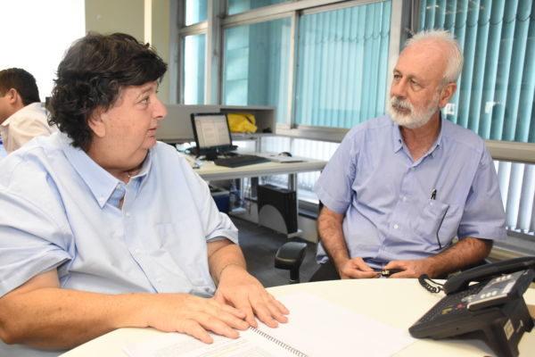 Juntos: Neto e Paiva definiram apoio às iniciativas  (Foto: Ana Paula Silva)