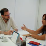 Buscando apoio: Deputada estadual Ana Paula Rechuan se reuniu com secretário de Estado de Cultura, André Lazaroni (Foto: Divulgação)