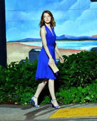 Emma Stone: De salto alto em 'La La Land'