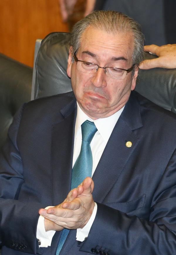 Ainda na prisão: Cunha está em presídio na região metropolitana de Curitiba por determinação do juiz federal Sérgio Moro (Foto: Arquivo/Lula Marques/Agência PT)