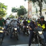 Falta de segurança: Motoboys realizaram no último dia 27 de janeiro uma manifestação com cerca de 150 profissionais (Foto: Enviada pelo WhatsApp)