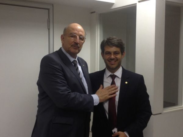 Produtivo: Encontro com ministro Omar Terra gerou benefícios para região (Foto: Divulgação)