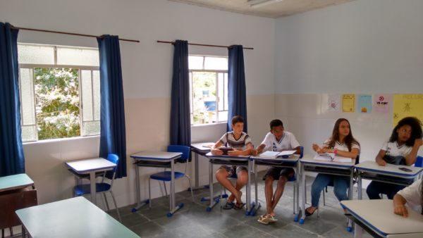 Para os alunos e professores: Escolas que estão recebendo melhorias são da zona rural de Quatis (Foto: Divulgação)