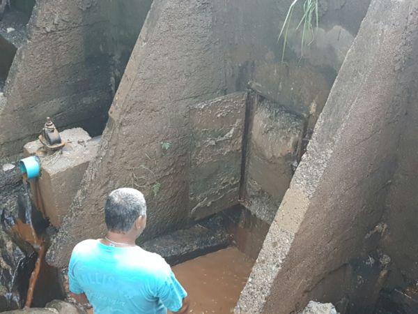 Problema: Técnicos dizem que existe a necessidade imediata de uma dragagem para desobstruir represa (Foto: Divulgação PMBP)