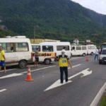 SOS Costa Verde: Operação tem a finalidade de organizar os meios de transportes que prestam serviços no litoral (Foto: Divulgação)