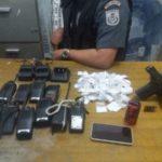armas e drogas apreendidas angra - pm