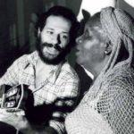 Lembrança: Encontro de Clementina de Jesus e João Bosco no Projeto Pinxuiguinha, da Funarte (Foto: Arquivo/Funarte)