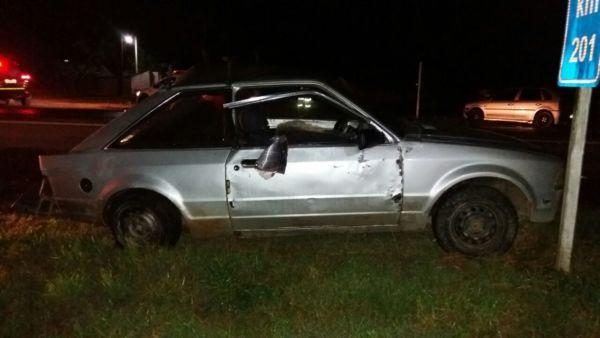 : Licenciamento do veículo também estava irregular (foto: Cedida pela PRF)