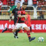 Diego marcou de pênalti e encerrou o jejum de vitórias do Flamengo sobre o Vasco (Foto: Gilvan de Souza / Flamengo)