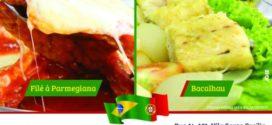 Luso Brasileiro faz promoção  de prato que serve duas pessoas