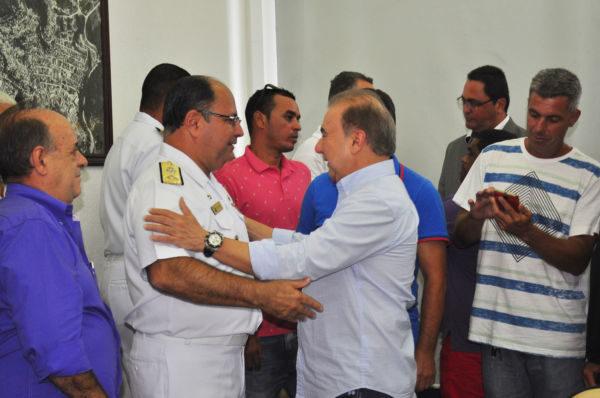 Projeto: Jordão e Wilson Pereira conversam sobre regulamentação da profissão de marinheiro de esporte e recreio