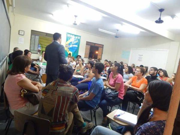 Social: Alunos conquistam bom aproveitamento com aulas especialmente preparadas (Foto: Arquivo pessoal)