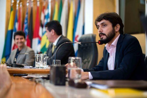 Visita: Samuca comparece à Câmara Municipal para manter diálogo e pedir apoio em renegociação de dívida (Foto: Gabriel Borges - PMVR)