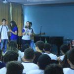 Encontro contou com a participação dos alunos dos ensinos fundamental e médio (Foto: Divulgação)