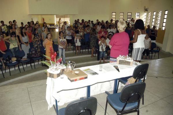 Vice-prefeita de Barra Mansa fez homenagem pelo Dia Internacional da Mulher (foto: PMBM)