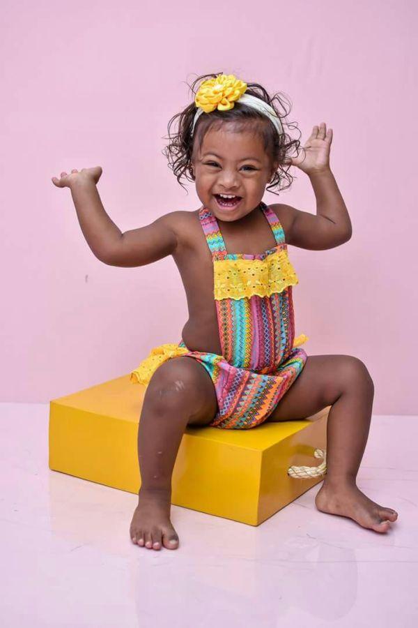 Pelas lentes: Crianças com síndrome de down foram modelos para fotógrafos amadores e profissionais (Foto: Divulgação)