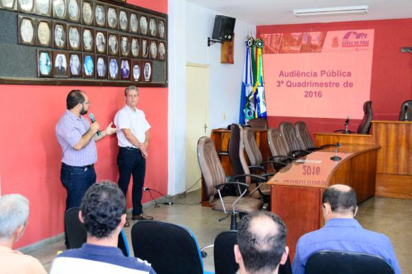 Explicação: Equipe da prefeitura vê necessidade de cautela com contas públicas em 2017 (Foto:PMBP)