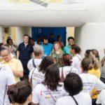 Marcia Cury, Samuca e Serfiotis abrem mutirão contra dengue