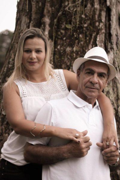 Geraldo Magella Chiesse de Castro e  Viviane da Silva, casam hoje
