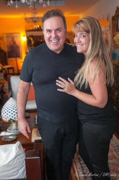 O cirurgião plástico Ricardo Cavalcanti e Luciana Gouvêa
