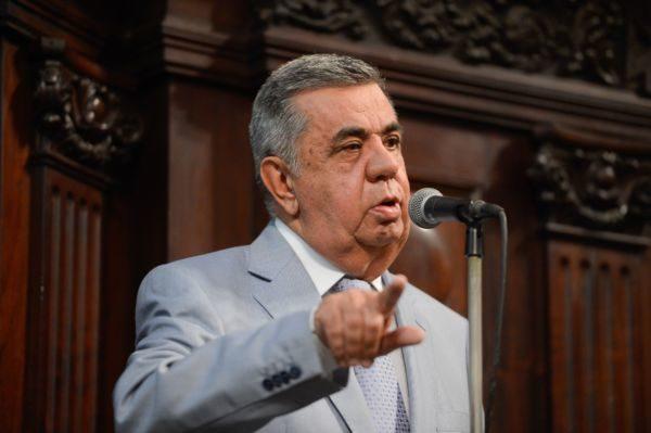 Picciani: 'Não tenho nenhum constrangimento de presidir essa Casa, porque não cometi nenhum ato ilegal, nenhum ato desonesto'(Fernando Frazão/Agênci Brasil)