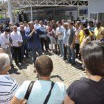 Saúde: Rodrigo Drable reinaugurou a UPA do Centro na manhã de sábado (Foto: Paulo Dimas)
