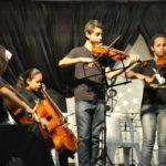 'A Música Venceu': Projeto tem como principal objetivo ensinar os conceitos da música a crianças e jovens carentes (Foto: Divulgação)