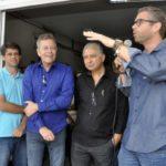 Cerimônia: Anúncio foi feito pelo prefeito Rodrigo Drable, que contou com a presença de autoridades e do provedor da Santa Casa, Jair Fusco (Paulo Dimas/Ascom PMBM)