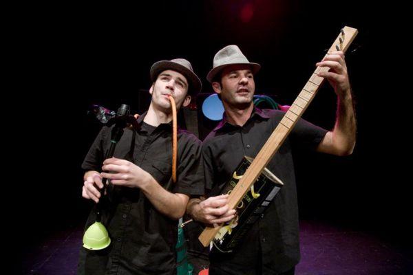 Arte: Oficina e concertos ministrados pelo grupo Vibra-Tó acontecem nesta quinta-feira no Espaço Z, em Resende (Foto: Divulgação/PMR)