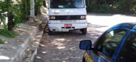 PRF recupera caminhão roubado em Japeri, na Baixada Fluminense