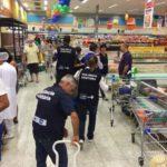 Vigilância Sanitária fiscaliza mercados em diversos pontos do Rio