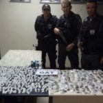 Droga apreendida foi levada para  Instituto de Criminalística Carlos Éboli de Resende (foto: Cedida pela PM)