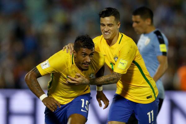 Paulinho e Coutinho são duas das armas do Brasil que vai sem Neymar