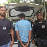 Suspeito foi detida na casa da família dele, no bairro Chalé 2 (Foto: Divulgação/Polícia Civil)