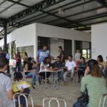 Em debate: Política pública ambiental compartilhada e a importância da participação comunitária foi tema do fórum (Edson Sill/Ascom PMPR)