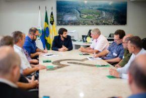Samuca recebe diretoria do Codese