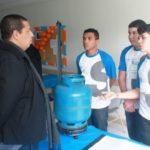Projeto: Balança para certificação e controle do consumo de gás de cozinha vai concorrer com projetos desenvolvidos por estudantes de todo o país (Foto: Carlos Felipe de Araújo)