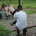 Modelos: Fotógrafo Uesllen Francisco Souza fez as fotos das pacientes na ação promovida pelo Hospital Unimed (Foto: Divulgação)