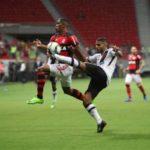 Flamengo e Vasco também teve jogadas ríspidas ou bem disputadas