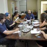 Reunião: Evento foi preparado na última semana por pessoas envolvidas com a cultura local (Foto: Paulo Dimas)