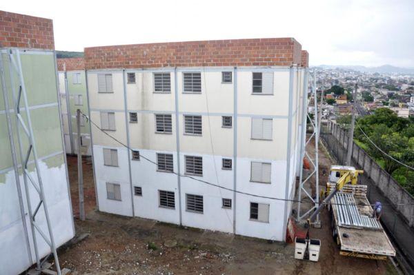 'Minha Casa, Minha Vida': Residencial Jardim Cidade do Aço reúne 96 apartamentos e tem previsão de entrega em julho deste ano (Foto: Geraldo Gonçalves/ASCOM PMVR)