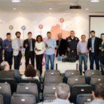 Cerimônia: Representantes dos municípios do Sul Fluminense estiveram na Risp, em Volta Redonda, para receber os equipamentos (Foto: Gabriel Borges/Ascom PMVR)
