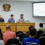 Em conversa: Objetivo foi aproximar o poder público e dar mais apoio aos eventos promovidos pelas equipes, diminuindo transtornos à população (Foto:Gabriel Borges/Ascom PMVR)