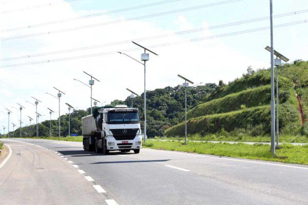 Segurança: Usuário poderá relatar problemas que ocorram na rodovia (Foto: Clarice Castro)