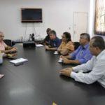 Rodrigo Drable recebeu representantes do Ministério da Agricultura