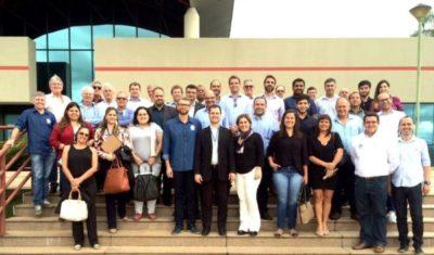 Empresários do Conselho Regional da FIRJAN/CIRJ e representantes dos setores público e privado teve a oportunidade de conhecer o Parque Tecnológico de São José dos Campos