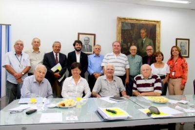 A reunião do Conselho Curador da FOA, que recebeu o prefeito de Volta Redonda, Samuca Silva