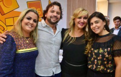 Ana Cristina Mendonça, Whilder Mendonça, Ana Paula Delgado e Camila Cotta