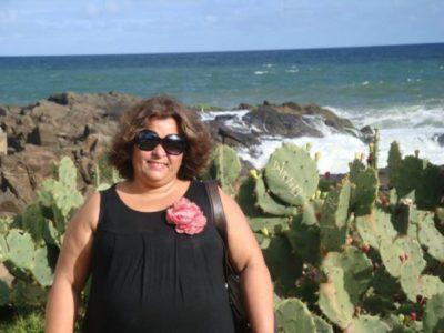 A médica Ana Lucia Peixoto Quaresma (aniversariante do dia)